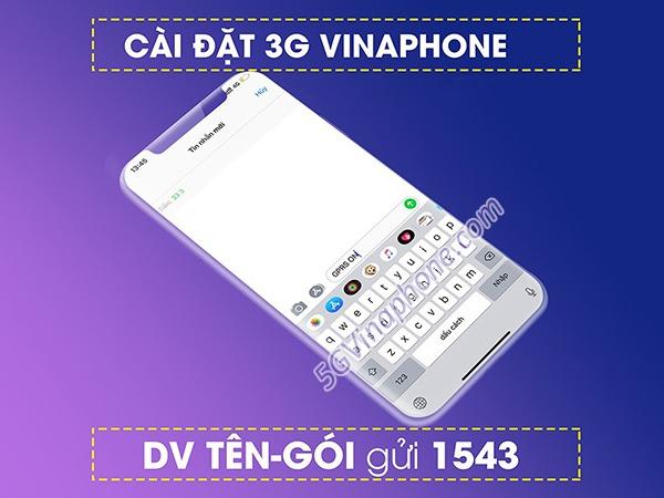 Hướng dẫn cách cài đặt 3G Vinaphone, cấu hình 3G Vinaphone