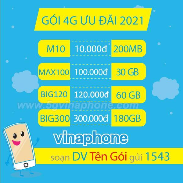 Đăng ký 4G Vinaphone GIÁ RẺ ưu đãi KHỦNG