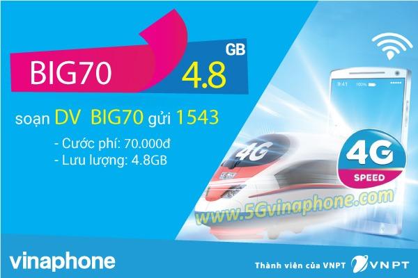 Hướng dẫn cách đăng ký gói cước BIG70 Vinaphone
