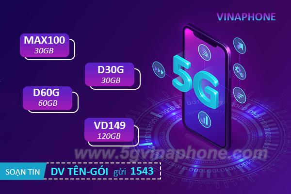Tổng hợp tất cả các gói cước 5G của Vinaphone đầy đủ và mới nhất