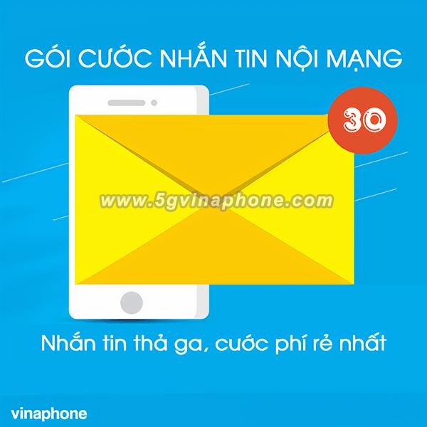 Bảng giá các gói cước nhắn tin nội mạng Vinaphone