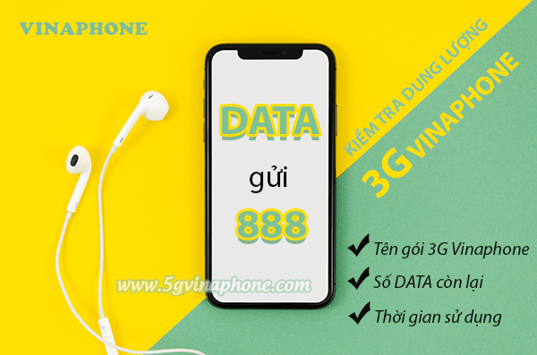 Cách kiểm tra dung lượng 3G Vinaphone miễn phí đơn giản nhất